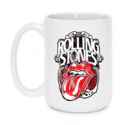 Кружка 420ml Rolling Stones art - FatLine