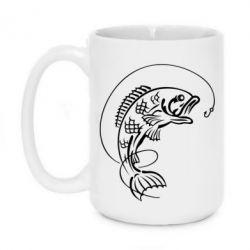 Кружка 420ml Рыба - FatLine