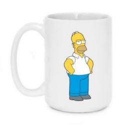 Кружка 420ml Серьезный Homer - FatLine