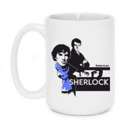 Кружка 420ml Sherlock (Шерлок Холмс) - FatLine