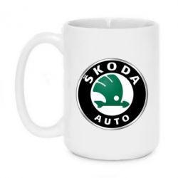 Кружка 420ml Skoda Auto - FatLine