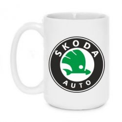 Кружка 420ml Skoda Small - FatLine