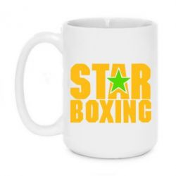 Кружка 420ml Star Boxing - FatLine