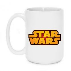 Кружка 420ml Star Wars Gold Logo - FatLine