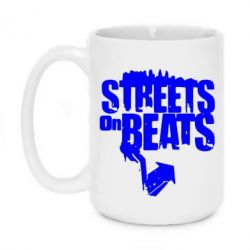 Кружка 420ml Streets On Beats - FatLine