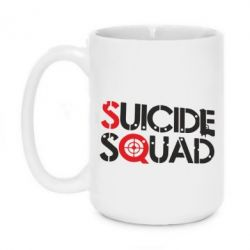 Кружка 420ml Suicide Squad Team