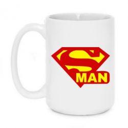 Кружка 420ml Super Man - FatLine