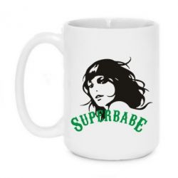 Кружка 420ml SuperBabe - FatLine