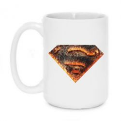 Кружка 420ml Superman and Fire - FatLine