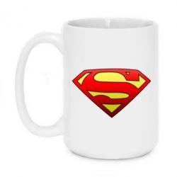 Кружка 420ml Superman Logo - FatLine