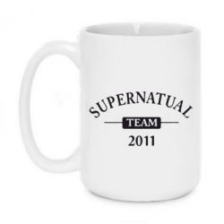 Кружка 420ml Supernatural Team