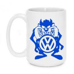 Кружка 420ml Тасманский дьявол Volkswagen - FatLine