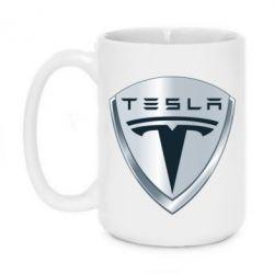 Кружка 420ml Tesla Corp - FatLine