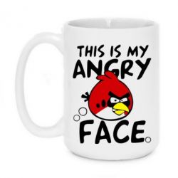 Кружка 420ml This is my angry face - FatLine