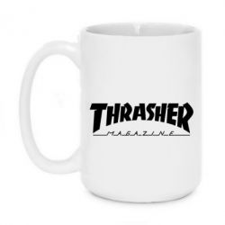 Кружка 420ml Thrasher Magazine - FatLine