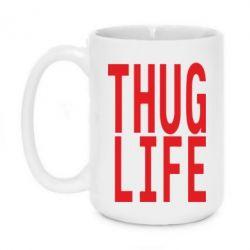 Кружка 420ml thug life - FatLine