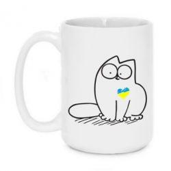 Кружка 420ml Типовий український кіт - FatLine