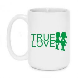 Кружка 420ml True Love - FatLine