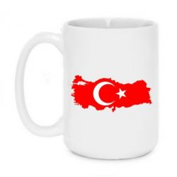 Кружка 420ml Turkey - FatLine