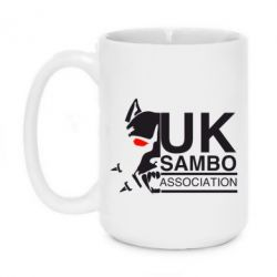 Кружка 420ml UK Sambo Association - FatLine