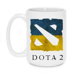 Кружка 420ml Ukraine Dota Team - FatLine