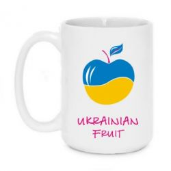 Кружка 420ml Ukrainian Fruit - FatLine