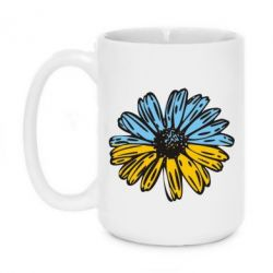 Кружка 420ml Українська квітка - FatLine