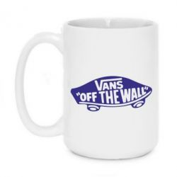 Кружка 420ml Vans of the walll Logo - FatLine