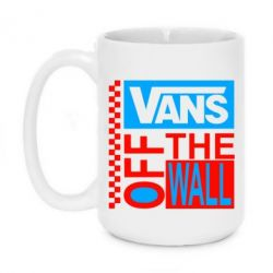 Кружка 420ml Vans of the walll