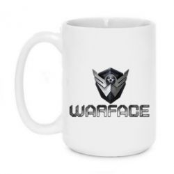 Кружка 420ml Warface Logo - FatLine