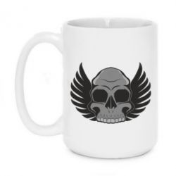 Кружка 420ml Winged Skull - FatLine