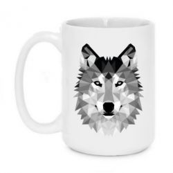 Кружка 420ml Wolf Art - FatLine