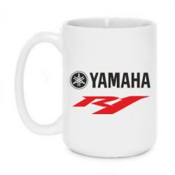 Кружка 420ml Yamaha R1 - FatLine