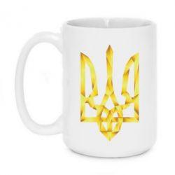 Кружка 420ml Золотий герб - FatLine
