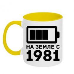 Кружка двухцветная 1981 - FatLine