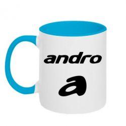 Кружка двухцветная Andro - FatLine