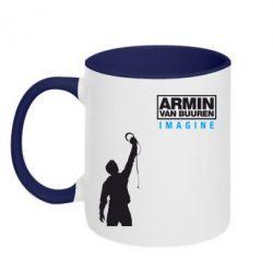 Кружка двухцветная Armin Imagine - FatLine