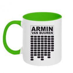 Кружка двухцветная Armin Van Buuren Trance - FatLine