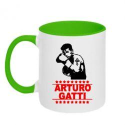 Кружка двухцветная Arturo Gatti - FatLine