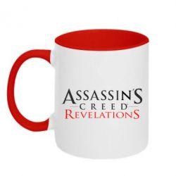 Кружка двухцветная Assassin's Creed Revelations - FatLine
