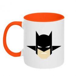 """Кружка двухцветная Batman """"Minimalism"""" - FatLine"""