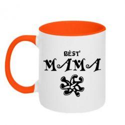 Кружка двухцветная Best Mama - FatLine