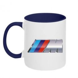 Кружка двухцветная BMW M POWER Small - FatLine