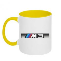 Кружка двухцветная BMW M3 - FatLine