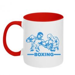 Кружка двухцветная Boxing Fighters