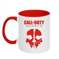 Кружка двухцветная Call of Duty Ghosts - FatLine