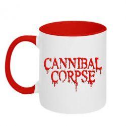 Кружка двухцветная Cannibal Corpse - FatLine