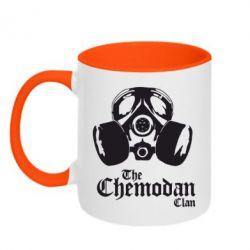 Кружка двухцветная Chemodan - FatLine