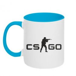 Кружка двухцветная Counter Strike GO - FatLine