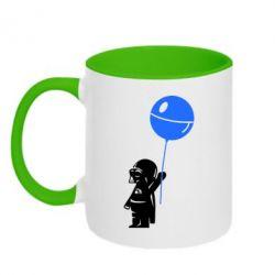 Кружка двухцветная Дарт Вейдер с шариком - FatLine